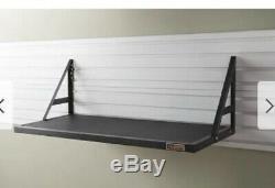 Garage Storage Shelf Wall Mounted Shelves Heavy Duty Rack Home Work Organization