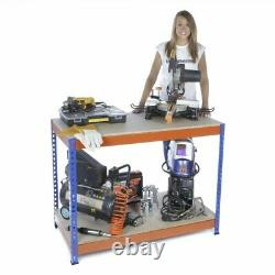 Garage Work Bench 900mm H x 1500mm W x 600mm D EXTRA HEAVY DUTY