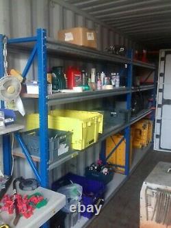 Garage shelving workshop shed unit shelving heavy duty