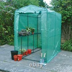Greenhouse Walk-in Garden Covers Shelving Heavy Duty Grow Plants Large Pvc