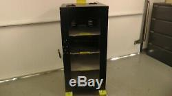 Grow room, propagation, vegging seedling cabinet heavy duty 4 pull out shelves