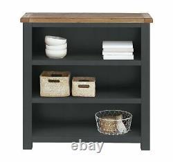 Habitat Kent 3 Shelf Small Bookcase Grey