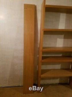 Habitat Oak Veneer Modular Open Bookcase/ Bookshelves/ Shelving Storage Unit