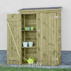 Harrier Wooden Garden Storage Cabinet GARDEN SHED Outdoor Tool Cabinet Shed