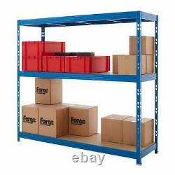 Heavy Duty 900kg 3 Level Warehouse Racking Storage Unit 186h x 200w x 60d cm
