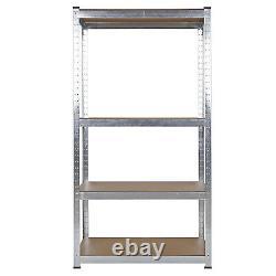 Heavy Duty Corner Shelf Modular Storage Rack Garage Basement Cellar Racking Unit