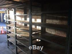 Heavy Duty Dexion Shelving 8 Sections