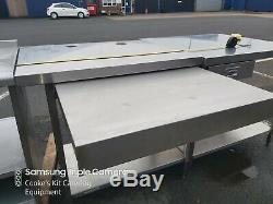 Heavy Duty Fully Welded Stainless Steel Work Station, Pull Out Shelf 95 X 76cm