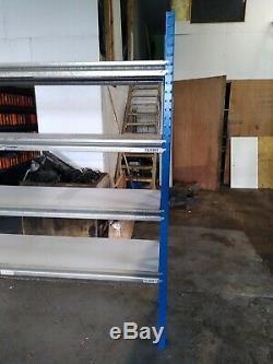 Heavy Duty Garage Racking Storage Shelving Units Boltless Metal