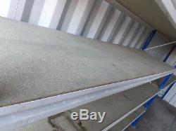 Heavy Duty Garage Shelving / Racking, each bay 2.4m long, 2.2m high 600mm deep