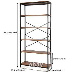 Heavy Duty Garage Shelving Unit 6 Tier Boltless Racking Shelf Storage Home Shelf