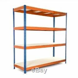 Heavy Duty Garage Storage Racking Shelving 400KG UDL 1980h x 1830w x 610d (mm)