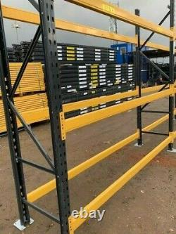 Heavy Duty Pallet Racking Link 51 VGC Varying Heights