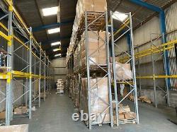 Heavy Duty Pallet Racking Storage Shelving 2.7M x 0.9M x 4.5M Dexion Link Rack
