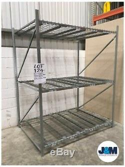 Heavy Duty Shelving Unit/Garage/Archive Rack/Warehouse Storage Bay BITO Longspan
