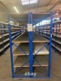 Heavy Duty Shelving Unit/Garage/Archive Rack/Warehouse Storage Bay Self Storage