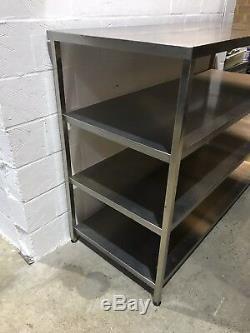 Heavy Duty Stainless Steel Shelf Unit1830 MM Wide(vat Inclusive)