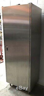 Heavy Duty Stainless Steel Upright Cupboard With Shelves 825 MM Wide £330 + Vat