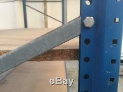 Heavy Duty Steel 3 Tier 6 Bay Commercial Industrial Warehouse Shelving Storage