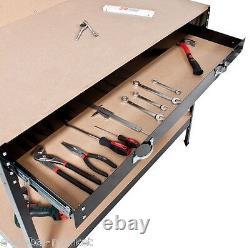 Heavy Duty Steel Shelving WorkBench PegBoard Drawer Pegs Shelves Rack Garage