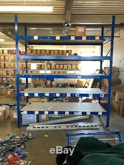 Heavy Duty Storage metal shelving Forfillment Warehouse Racking More Available