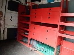 Heavy Duty Van Racking shelving
