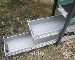 Heavy Duty Van Shelving Drawers Shelves Metal Rack Storage Garage