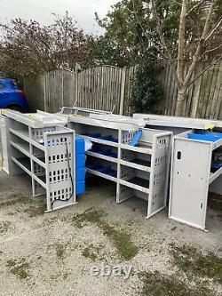 Heavy Duty Van Shelving Shelves Steel Metal Rack Storage Garage