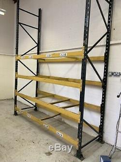Heavy Duty Warehouse Pallet Racking Shelving. One Complete Bay