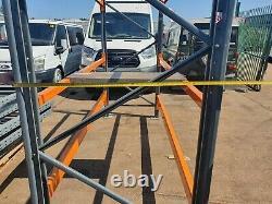Heavy Duty Warehouse Pallet Racking bay shelf 3 shelf racking 2.8m