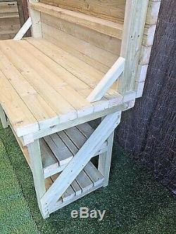 Heavy Duty Wooden Work Bench Lengths From 3ft To 8ft Treated Timber