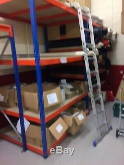 Heavy Duty racking shelving 3 Bays