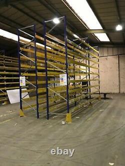 Heavy duty pallet racking shelving warehouse/garage/workshop link51 Dexion PSS