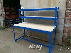 Heavy duty work bench (shelving, storage, pallet racking)