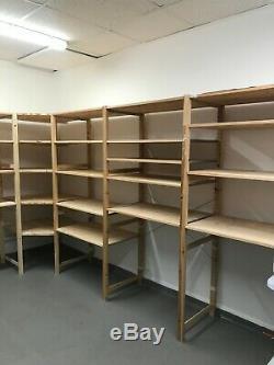IKEA IVAR Wooden Pine Corner Shelving Storage System Unit RRP £748