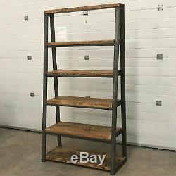 Industrial 6 Tier Racking Storage Shelving Units Heavy Duty Shelves Bookcase