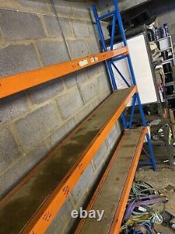 Industrial Heavy Duty Metal Workshop Packaging Shelving & Racking Bench