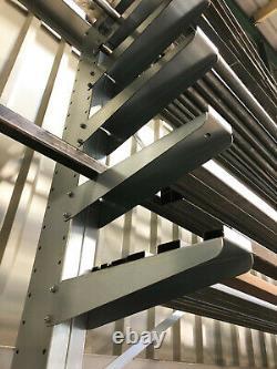 Industrial Heavy Duty Storage Cantilever Racking Storage Shelving Racks Shelving