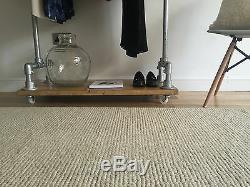 Industrial Style Clothes Rail with Shelf / Wardrobe / Shoe Storage / Coat Rail