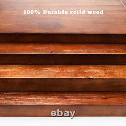 Industrial Style Coat Rack Shoe Bench Hall Tree Entryway Clothes Storage Shelf
