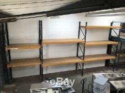 Industrial heavy duty warehouse pallet racking shelving