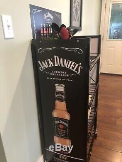 Jack Daniels Heavy Duty Shelving Unit With Wheels 48.5x23.5 New In Box WoW