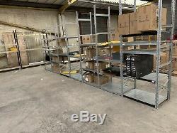 Job Lot Heavy Duty Warehouse Racking Professional Grade 42 Bays, 300+ Shelfs