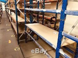 Job Lot Used Workshop Storage warehouse Longspan Racking Shelving Heavyduty