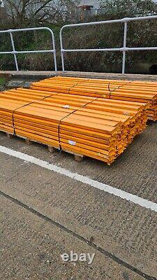 LINK 51 HEAVY DUTY INDUSTRIAL COMMERCIAL PALLET RACKING 9ft Beams plus shelving