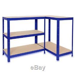 Large Heavy Duty Storage 180x90x40cm Garage/Warehouse Metal Racking Shelving Bay
