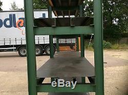 Large Very Heavy Duty Steel 3 Shelf Rack
