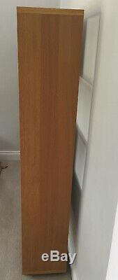 Large Wooden Habitat Bookcase Display Unit, Beech, Very Good Condition