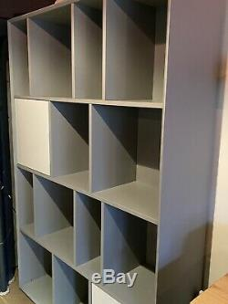 Last one. Made. Com Large Stretto Shelves, Grey, Used, Good Condition