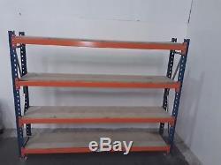 Longspan shelving, Shelving, H-2.2m L2.7m D-0.5m, Heavy Duty, £162.00 + vat
